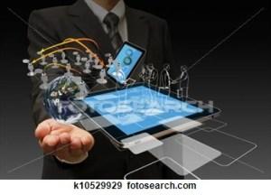 technology-hand-businessmen
